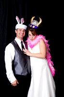 Mike and Amy Wedding Photo-Booth