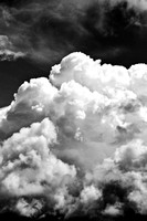 Black and White Dramatic clouds